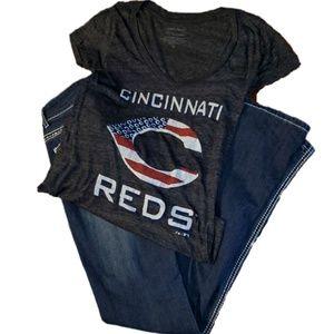Cincinnati Reds Americana T-Shirt